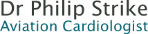 Dr Philip Strike – Aviation Cardiologist Logo